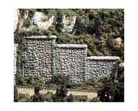 Woodland Scenics N Retaining Wall, Random Stone (6)