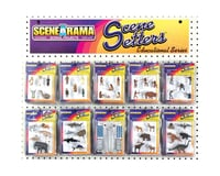 Woodland Scenics Scene-a-Rama Scene Setters Assortment (40)