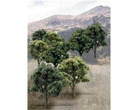 "Woodland Scenics Value Trees, Green Mix 3-5"" (14)"