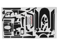 """WRAP-UP NEXT REAL 3D """"Carbon"""" Premium Transmitter Skin (Black) (Sanwa M12)"""