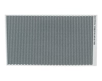 WRAP-UP NEXT REAL 3D Grill Decal (Black) (Honeycomb) (130x75mm)