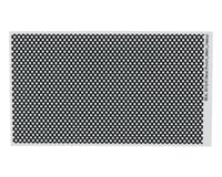 WRAP-UP NEXT REAL 3D Grill Decal (Punch-Mesh-Thick) (130x75mm)