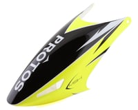 XLPower MSH Protos 480 Fiberglass Canopy (Yellow)