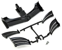 XRAY X1 2018 ETS Composite Adjustable Front Wing (Black)