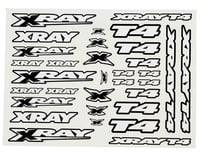 Xray XRAY T4 Sticker Decal Sheet (White)