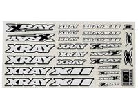 Xray X12 Sticker Sheet (White) (XRAY 2016)