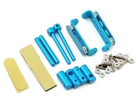 Xtra Speed 1/10 RC Aluminum Stealth Body Mount (Blue)