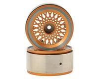 Xtra Speed Aluminum 1.9 HD Beadlock Wheel (Gold) (2)