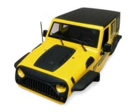 Xtra Speed Jeep Wrangler Hard Plastic Body Kit (Yellow) (313mm)