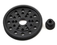 Xtra Speed SCX10/Wraith Delrin Helical Spur & Pinion Gear Set (92/20T)