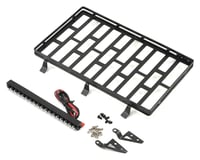 Xtra Speed SCX10 II Metal Cage Roof Luggage Tray w/Light Bar