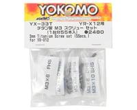 Yokomo YR-X12 Titanium M3 Screw Set