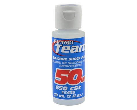 Team Associated Silicone Shock Oil (2oz) (50wt)