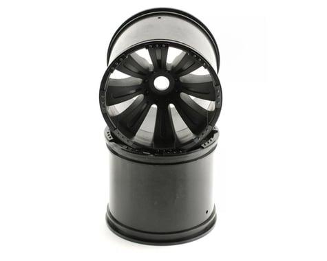 Axial 8 Spoke Oversize 1/8 Monster Truck Wheel (2) (Black)