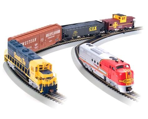 Bachmann Digital Commander Deluxe Train Set w/DCC (Santa Fe) (HO-Scale)