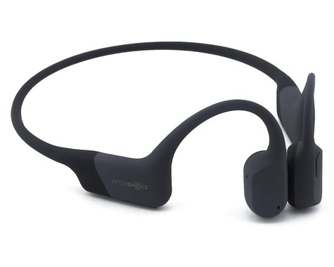 AfterShokz Aeropex Wireless Bone Conduction Headphones (Cosmic Black) (Standard)