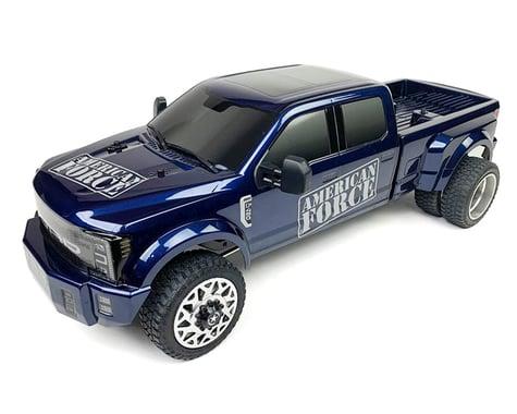 CEN Ford F450 SD 1/10 RTR Custom Truck (Galaxy Blue)