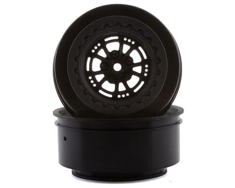 DragRace Concepts AXIS 2.2/3.0″ Drag Racing Rear Wheels w/12mm Hex (Black) (2)