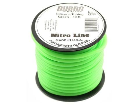 "DuBro ""Nitro Line"" Silicone Fuel Tubing (Green) (50')"