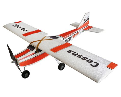DW Hobby E10 Cessna Electric Foam Airplane Combo Kit (960mm)