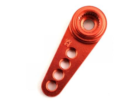Dynamite Machined Aluminum Hitec Servo Horn (Red)