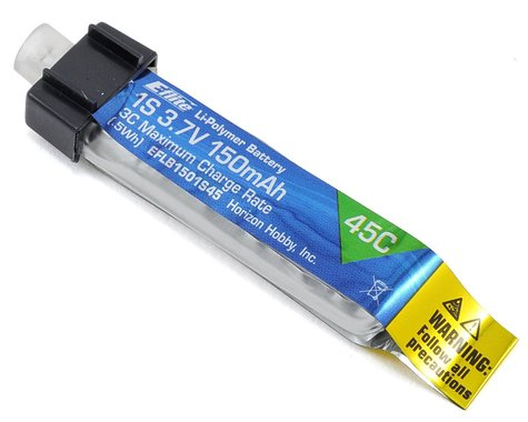 E-flite 1S LiPo Battery 45C (3.7V/150mAh)