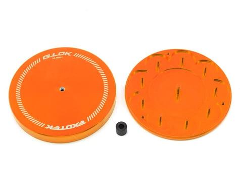 Exotek G.LOK Gear Locker Pinion & Spur Gear Case w/Parts Tray (Orange)