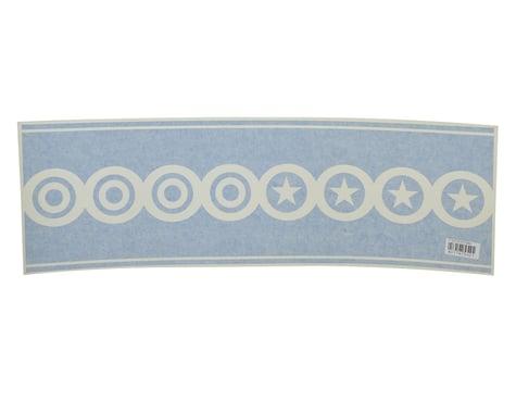 "Flite Test 26"" Decal Scallops (Blue)"