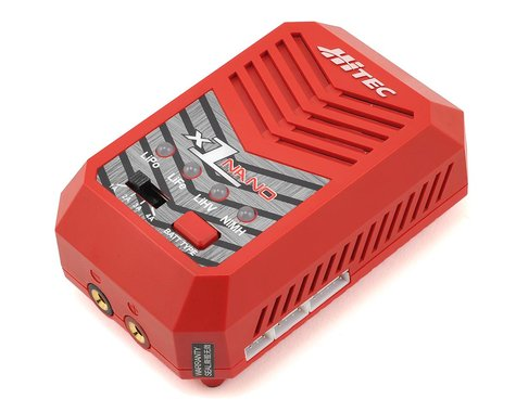 Hitec X1 Nano LiPo/LiHV/NiMH AC Battery Charger (4S/4A/50W)