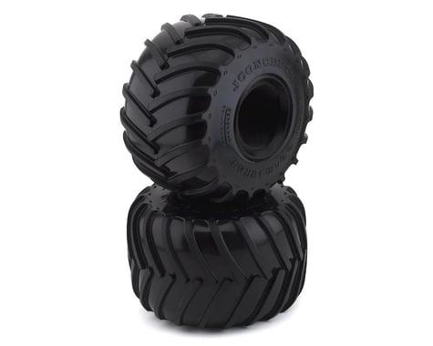 "JConcepts Golden Years 2.6"" Monster Truck Tires (2) (Blue)"