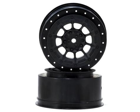 JConcepts 12mm Hex Hazard Short Course Wheels (Black) (2) (TEN-SCTE)