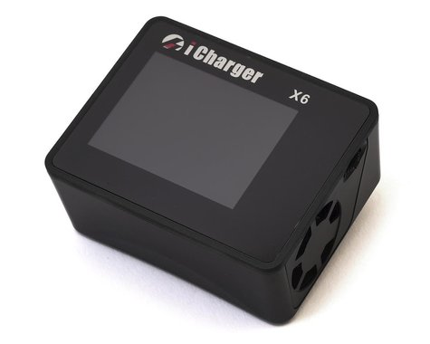 Junsi iCharger X6 Lilo/LiPo/Life/NiMH/NiCD DC Battery Charger (6S/30A/800W)