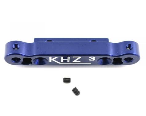King Headz Kyosho MP777 Rear Toe-In Plate (3 degree)