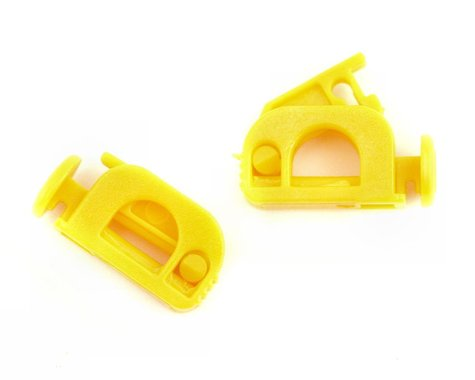 K & S Fuel Shutoff Clamp (Yellow) (2)
