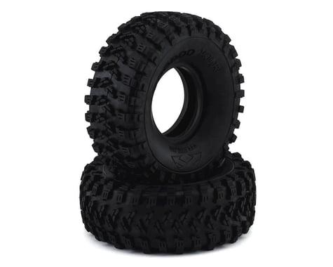 """Team Ottsix Racing Voodoo KLR 1.9"""" Crawler Tires (2) (No Foam) (Red)"""