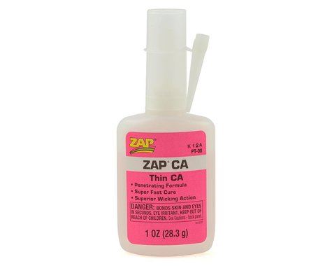 Pacer Technology Zap Thin CA Glue, 1 oz