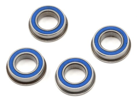"""ProTek RC 8x14x4mm Rubber Sealed Flanged """"Speed"""" Bearing (4)"""