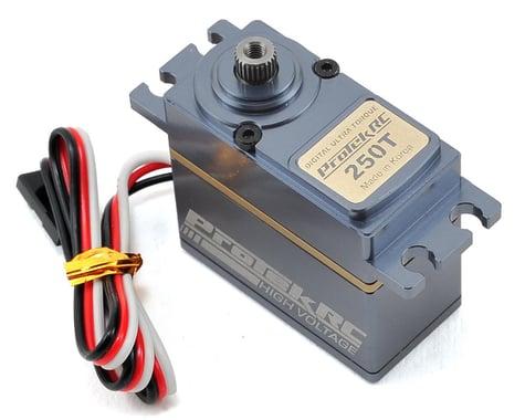 "ProTek RC 250T Standard Digital ""High Speed"" Metal Gear Cyclic Servo (High Voltage/Metal Case)"