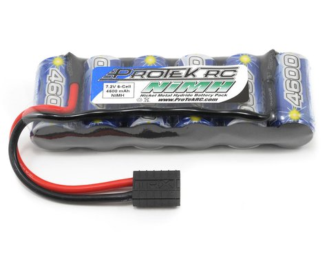 """ProTek RC 6-Cell 7.2V NiMH """"Speed"""" Intellect Battery Pack w/Traxxas Connector (IB4600SHV)"""