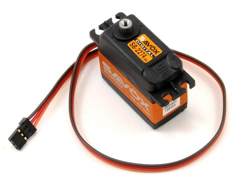 "Savox SB-2274SG ""High Speed"" Brushless Steel Gear Digital Servo (High Voltage)"