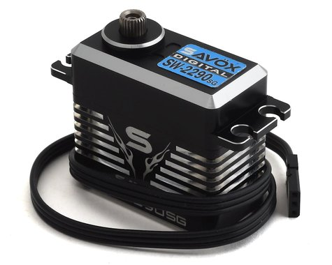 SCRATCH & DENT: Savox SW2290-SG Waterproof Premium Brushless Digital Servo (Black)