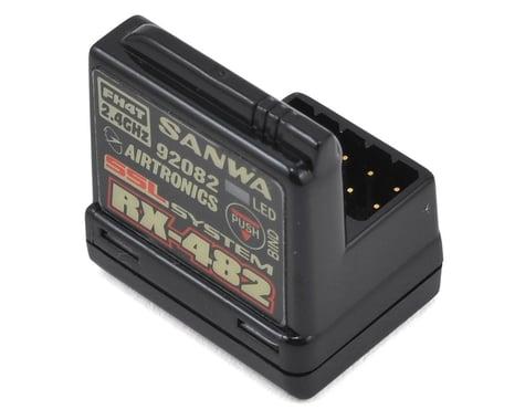 Sanwa/Airtronics RX-482 2.4GHz 4-Channel FHSS-4 SSL Telemetry Receiver