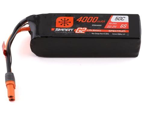 Spektrum RC 6S Smart G2 LiPo 50C Battery Pack (22.2V/4000mAh)