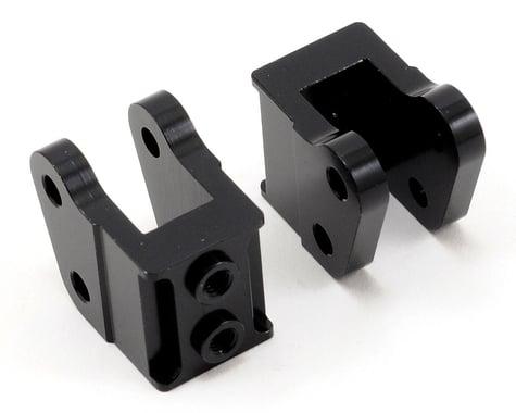 ST Racing Concepts Aluminum HD Bottom Shock Mount Set (2) (Black)