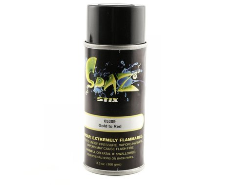 Spaz Stix Multi Color Change Spray Paint (Gold To Red) (3.5oz)
