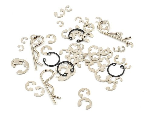 Traxxas E-clips/C-rings/Body Clips