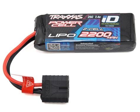 "Traxxas 2S ""Power Cell"" 25C LiPo Battery w/iD Traxxas Connector (7.4V/2200mAh)"
