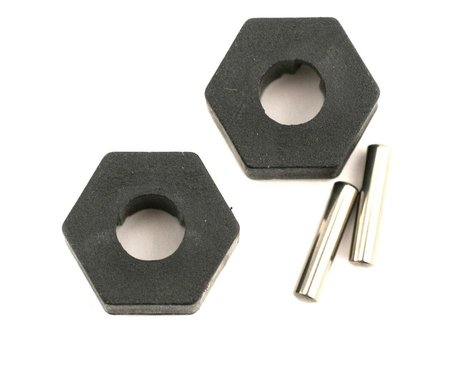 Traxxas Hex Wheel Hubs w/2.5x12mm Axle Pins (2)