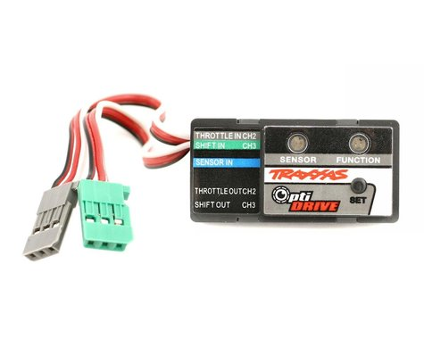 Traxxas Revo OptiDrive electronic shift module
