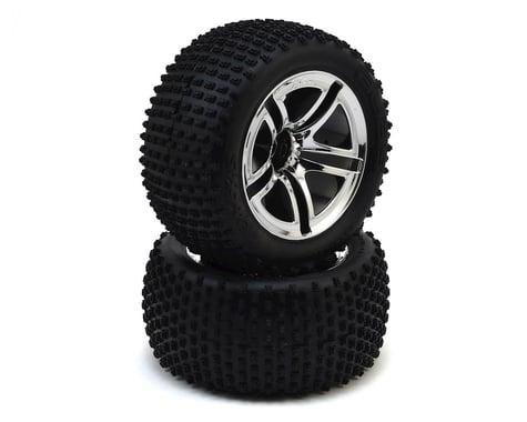Traxxas Pre-Mounted Rear Tires (2)
